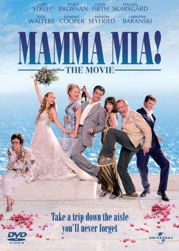 MAMMA MIA! THE MOVIE - DVD