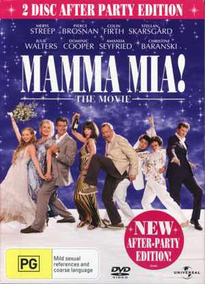 MAMMA MIA! 2 Disc After Party Edition