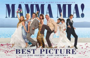 MAMMA MIA! For your Golden Globe consideration