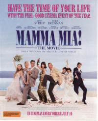 MAMMA MIA! THE MOVIE - Australia