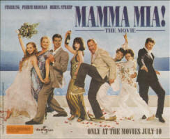 MAMMA MIA! THE MOVIE - advertisement Australia