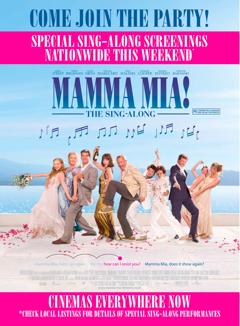 mamma mia the movie an abba omnibus subsite