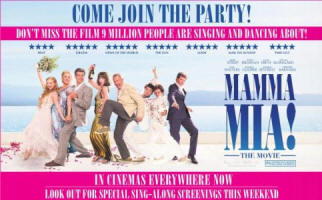MAMMA MIA! THE MOVIE - UK