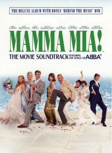 MAMMA MIA! THE MOVIE SOUNDTRACK The Deluxe Album - Japan